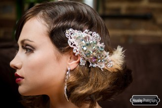 1920s Feather Fascinator