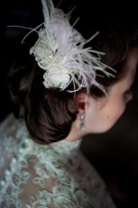 1920s Feather Hairpiece