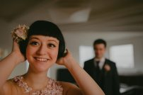 1920s Inspired Wedding in Iceland