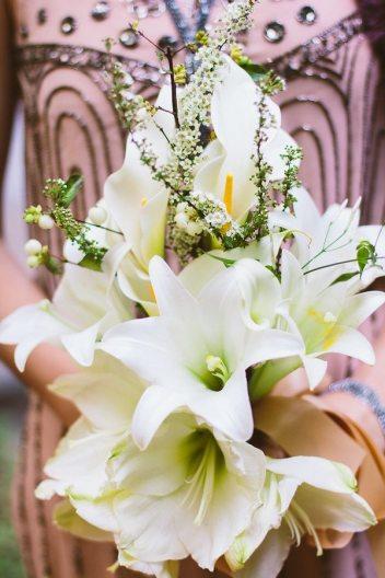 1920s Wedding Bouquet