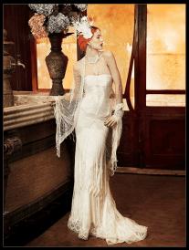 20s Wedding Dress - Yolan Cris - Roma