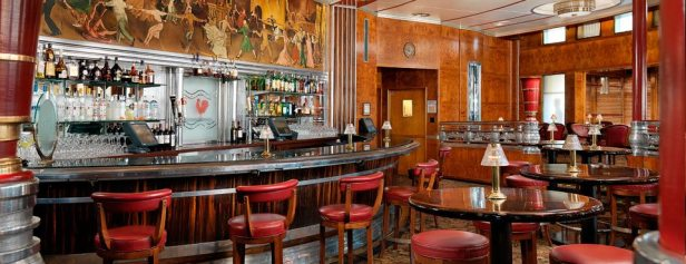 Art Deco Observation Bar || Queen Mary