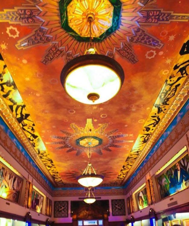 Art Deco Ceiling