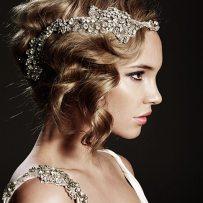 Art Nouveau Bridal Hair