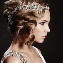 Art Nouveau Bridal Hair