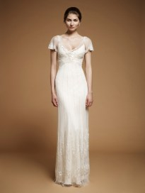 Art Nouveau Wedding Gown || Jenny Packham Foxglove