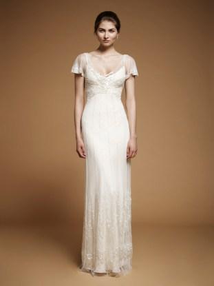 Art Nouveau Wedding Gown