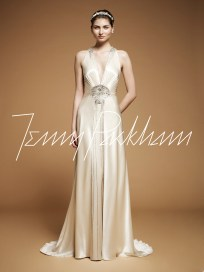 Art Deco Wedding Gown || Jenny Packham Imari