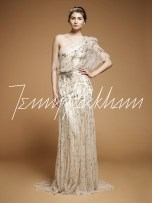 20s Grecian Wedding Dress || Jenny Packham Iris