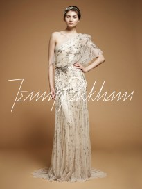 20s Grecian Wedding Dress