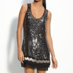 Flapper Inspired Dresses || Black Beaded Sequin