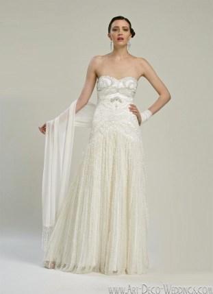 Sue Wong 1920s Wedding Dress W2112