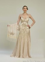 Sue Wong 20s Wedding Dress N2133