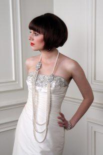 Flapper Wedding Pearls