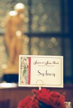 Art Deco Place Card || Joey + Justin