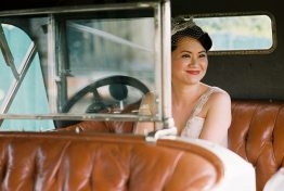 Vintage Wedding Car || Joey + Justin