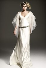 1920s Wedding Dress Caroline