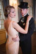 Art Deco Bride + Groom Kansas City