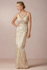 Maxine BHLDN Art Deco Wedding Dress