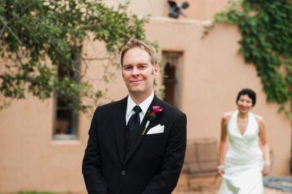 Art Deco Wedding First Look