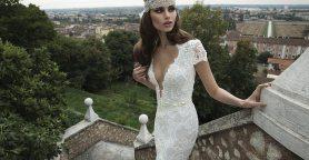 Art Deco Wedding Gown || Berta