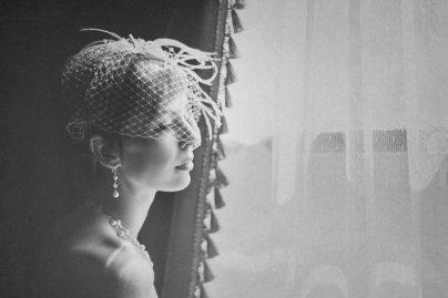 Deco Bride Fascinator