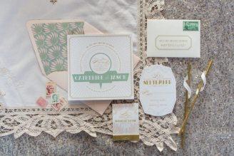 Deco Wedding Invites