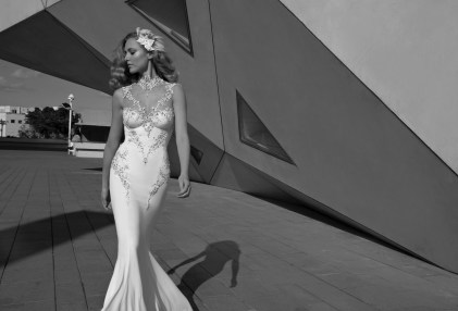 Diamond Wedding Dress by Galia Lahav
