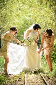 Flapper Bridesmaids