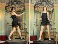 Flapper Fringe Dress