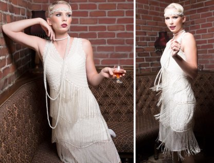 Flapper Fringe Wedding