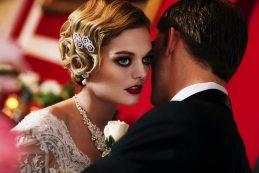 Flapper Wedding Makeup