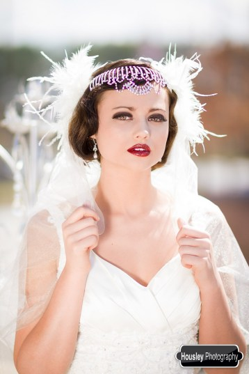 Gatsby Bridal Makeup