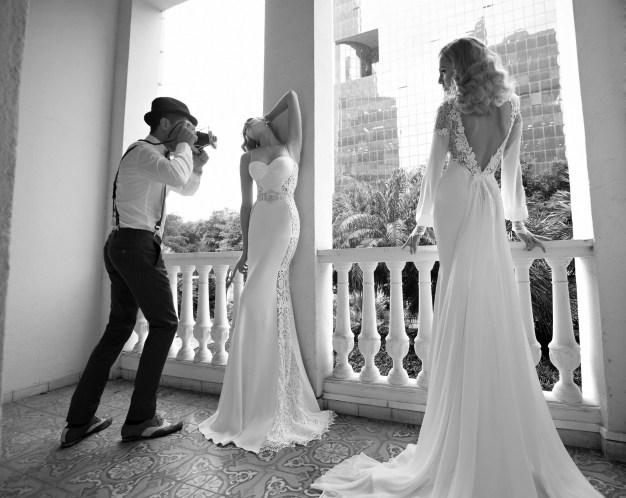 Ingrid and Sandra Wedding Dresses by Galia Lahav