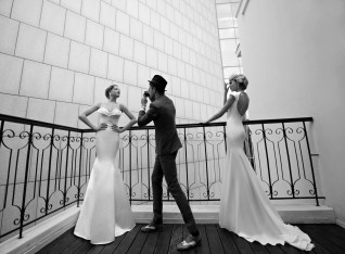 Marilyn + Dior Wedding Dresses by Galia Lahav