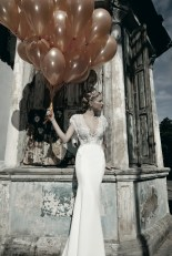 Pearl Wedding Dress by Galia Lahav