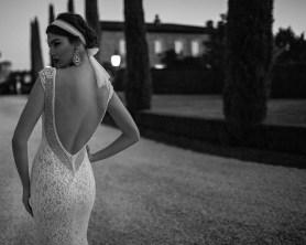 Plunge Back Wedding Gown || Berta