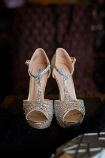 Roaring 20s Wedding Shoes