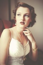 Vintage Wedding Makeup