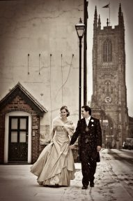 Derby Vintage Winter Wedding