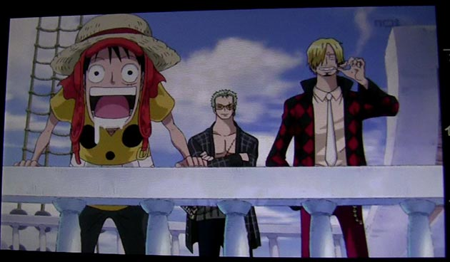 Escena Del Baño One Piece:En 'One Piece Film Z Glorious Island' solo puedo ver pechotes