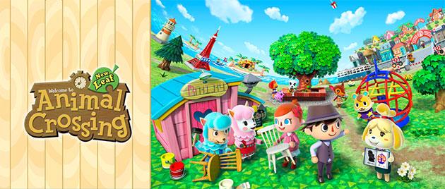 Animal Crossing New Leaf Wallpaper Pack Nintendo 3ds Xl Con Animal Crossing New Leaf En