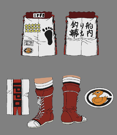 Hajime no Ippo Rising clothes
