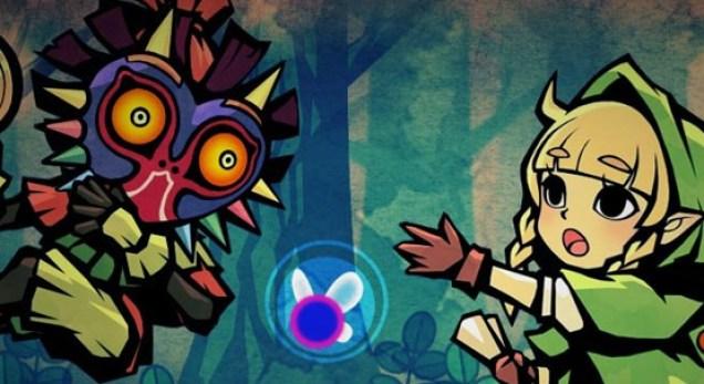 Hyrule Warriors Legends artwork