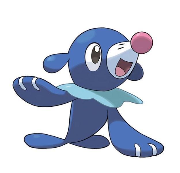 Popplio Pokemon Sol Luna