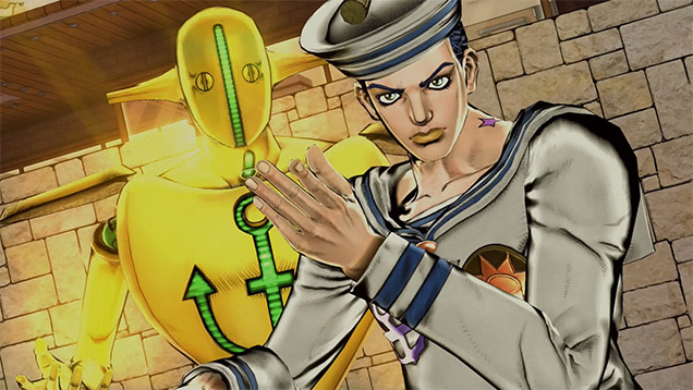 JoJolion JoJo's Bizarre Adventure Eyes of Heaven