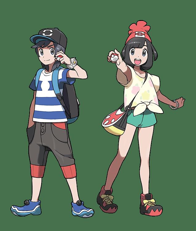 Protagonistas-Pokemon-Sol-Luna