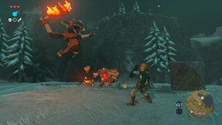 The Legend of Zelda Breath of the Wild gameplay 11