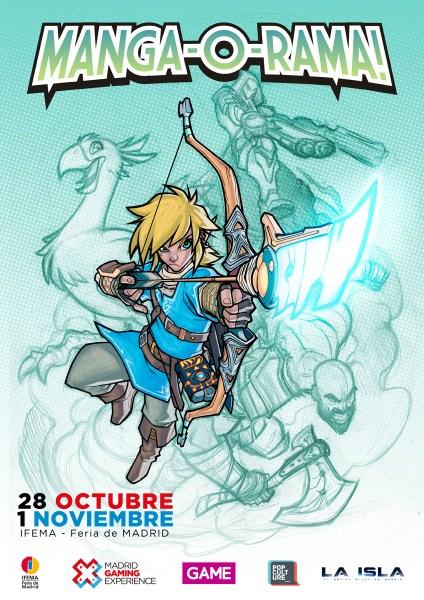 Cartel Manga-O-Rama! Madrid Gaming Experience