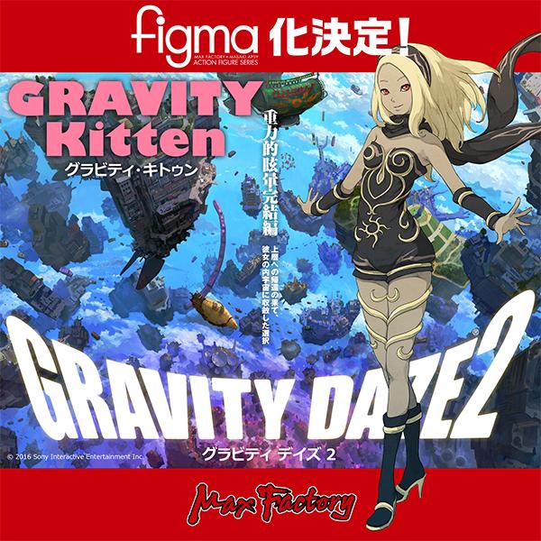 Kat Gravity Rush figma